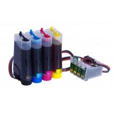 CISS Patronen für Epson WF-2860DWF WF-2865DWF + 400ml Tinte