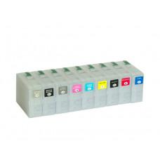 80ml Nachfüllpatronen  für EPSON SureColor SC-P800 + 900 ml InkTec PowerChrome K3 Pigmenttinte