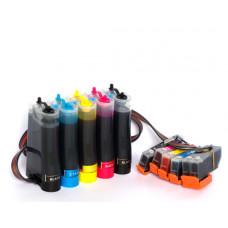 CISS Patronen für Epson Expression Premium XP-530 XP-540 XP-630 XP-635 + 500 ml tinte